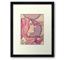 Tattooed Mermaid 5 Framed Print