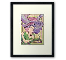 Tattooed Mermaid 9 Framed Print