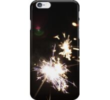 Fourth of July sparklers iPhone Case/Skin