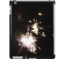 Fourth of July sparklers iPad Case/Skin