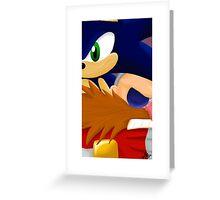 Sonic Eggman  Greeting Card