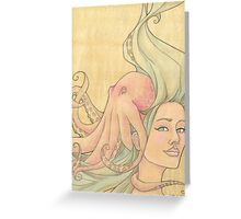 The Octopus Mermaid 7 Greeting Card