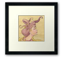 The Octopus Mermaid 11 Framed Print