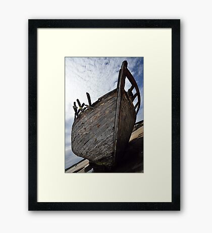 Ship Wrecked Framed Print