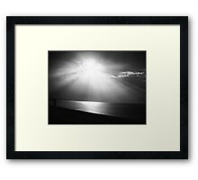 And God Saw That It Was Good~Genesis 1:10 Framed Print