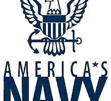 America's Navy Logo by henrytheartist