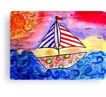 Dream Sailing!  Canvas Print