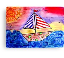 Dream Sailing!  Canvas Print