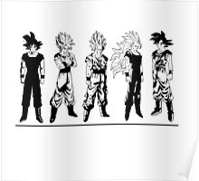 Saiyajin Evolution - Dragon Ball Poster