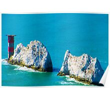 The Needles Isle of Wight Poster