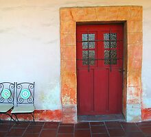 Red Door by Christine Anna Wilson