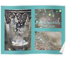 Sparkling New Year - JUSTART © Poster