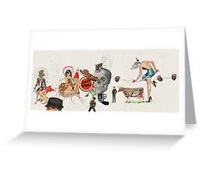 LAS BELLAS HERIDAS (Beautiful wounds) Greeting Card