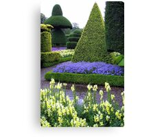 LEVINS HALL TOPIARY GARDEN Canvas Print