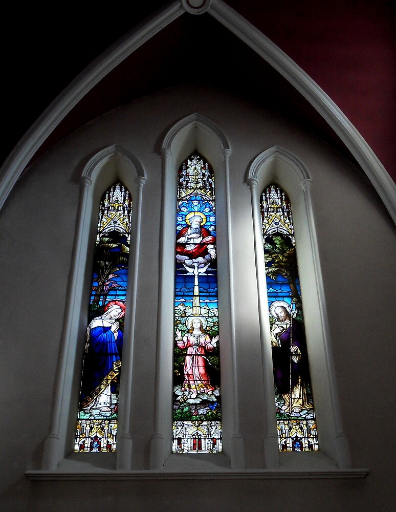 Window from Church of the Assumption Sligo by Julesrules