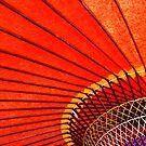 Red Parasol by cherryamber