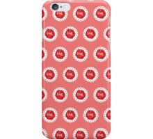 Vintage Red Rose iPhone Case/Skin