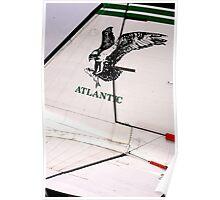 Air Atlantic DC 3 Dakota Poster