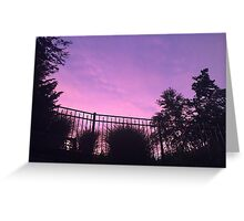 Sky after a storm Greeting Card