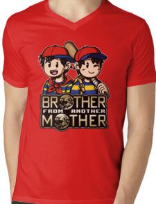 Another MOTHER - Ness & Ninten Mens V-Neck T-Shirt