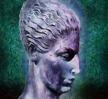 Head of the Huntress by RC deWinter