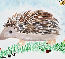 Happy Hedge Hog by farmkitties