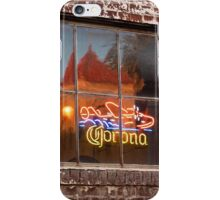 Corona Neon Window Sign iPhone Case/Skin