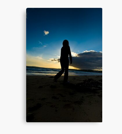 Slowmotion Sunset Canvas Print