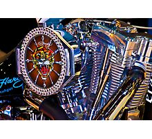 Engine Timepiece Photographic Print
