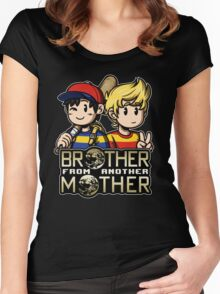 Another MOTHER - Ness & Lucas Women's Fitted Scoop T-Shirt