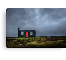 Summer House Canvas Print