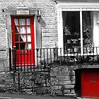 Derbyshire Doors by Caroline  Freeman