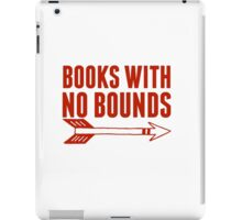 BOOKS WITH NO BOUNDS iPad Case/Skin