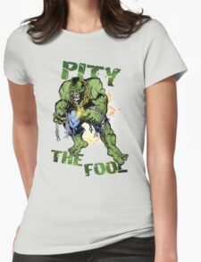 FOOL SMASHER! Womens Fitted T-Shirt