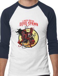 The Mouth Mercing Devil-Spawn Men's Baseball ¾ T-Shirt
