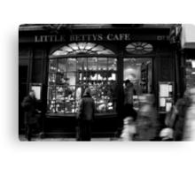 Little Betty's - Stonegate - York Canvas Print