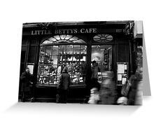Little Betty's - Stonegate - York Greeting Card
