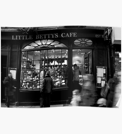Little Betty's - Stonegate - York Poster