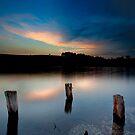 Eternity in the lake by Saverio Savio
