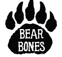 Bear Bones Photographic Print