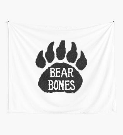 Bear Bones Wall Tapestry