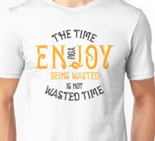 Marijuana Enjoy Being Wasted Unisex T-Shirt