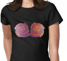 Double Spiral ~~ * Womens Fitted T-Shirt