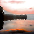 -Keewaydin Lake - Dusk  by T.J. Martin