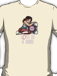 L0VE is a CUBE (Portal 2 ver.) T-Shirt