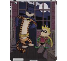 Calvin And Hobbes Parody iPad Case/Skin