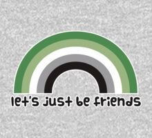 Let's Just Be Friends Kids Tee