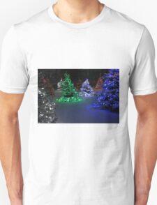 Electric Winter Wonderland Unisex T-Shirt