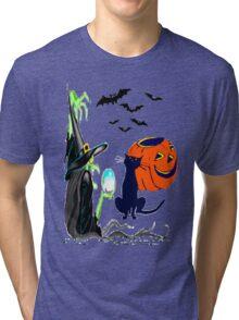 Child's Hallowe-en Tee Tri-blend T-Shirt