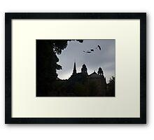 Dragons In Edinburgh Framed Print